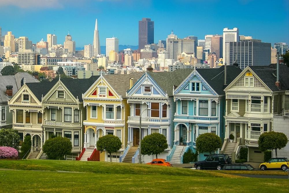 Rua de San Francisco, Califórnia