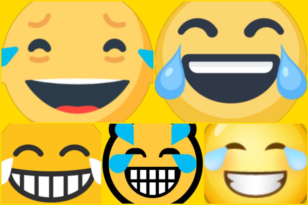 Emojis sorrindo