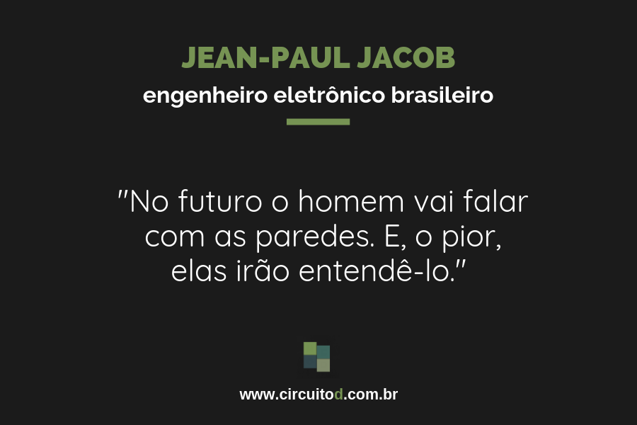 Frase de Jean-Paul Jacob sobre o futuro
