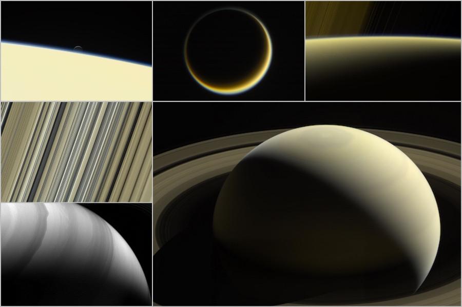 Imagens de Saturno