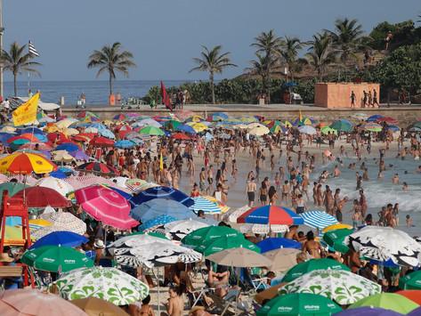 Rio torra com sensação térmica de mais de 50º