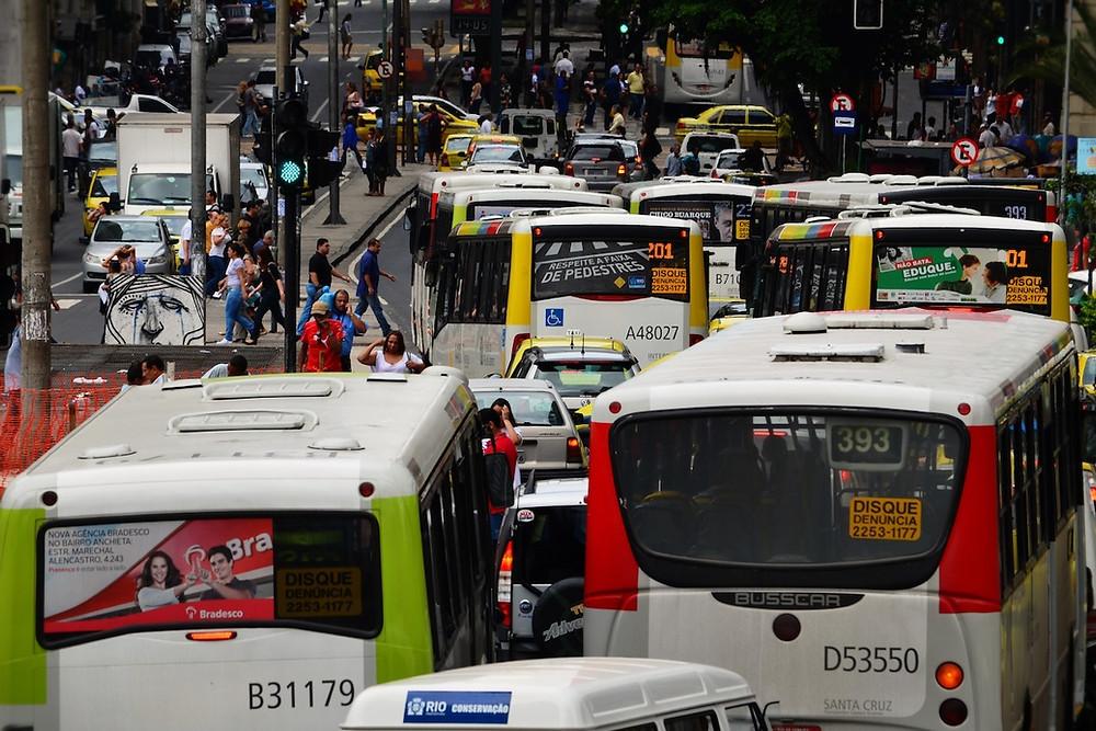 Congestionamento no Rio de Jaeiro