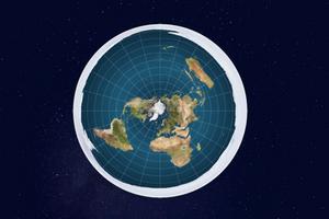 Terra plana na visão da Flat Earth Society