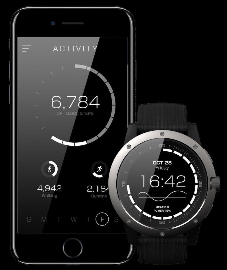 App e relógio PowerWatch
