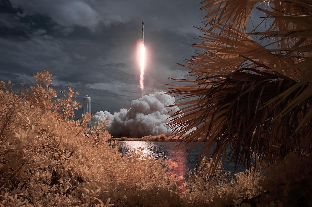 Lançamento do fogue Falcon 9