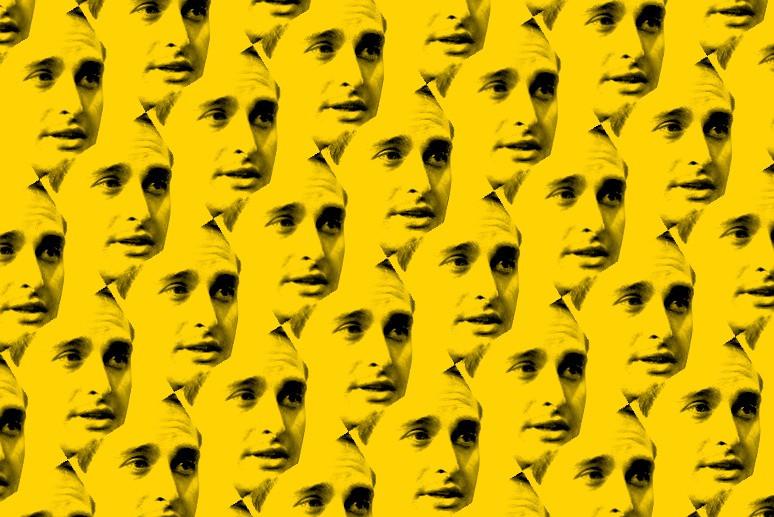 Múltiplos rostos de Evan Spiegel, da Snapchat