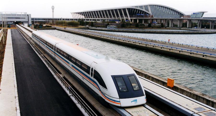 Trem Maglev Xangai