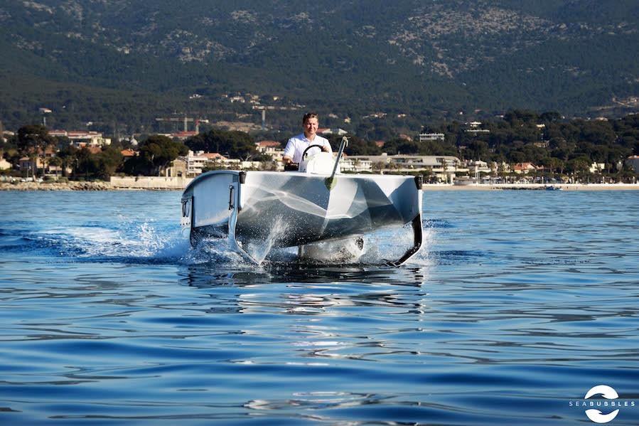 Barco voador da Seabubbles