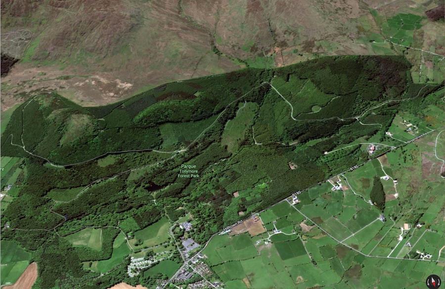 A floresta de Winterfell é filmada no Parque Tollymore, também na Irlanda do Norte.