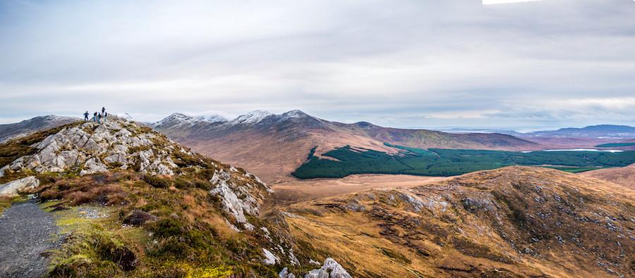 Parque Nacional Connemara, no condado de Galway, na Irlanda, por Ankit Verma.