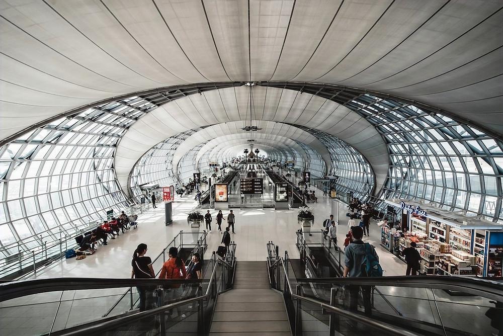 Aeroporto de Bankok-Suvarnabhumi