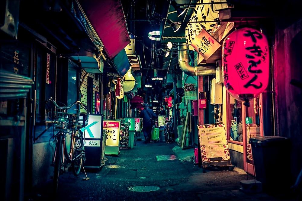 Bares em Tóquio
