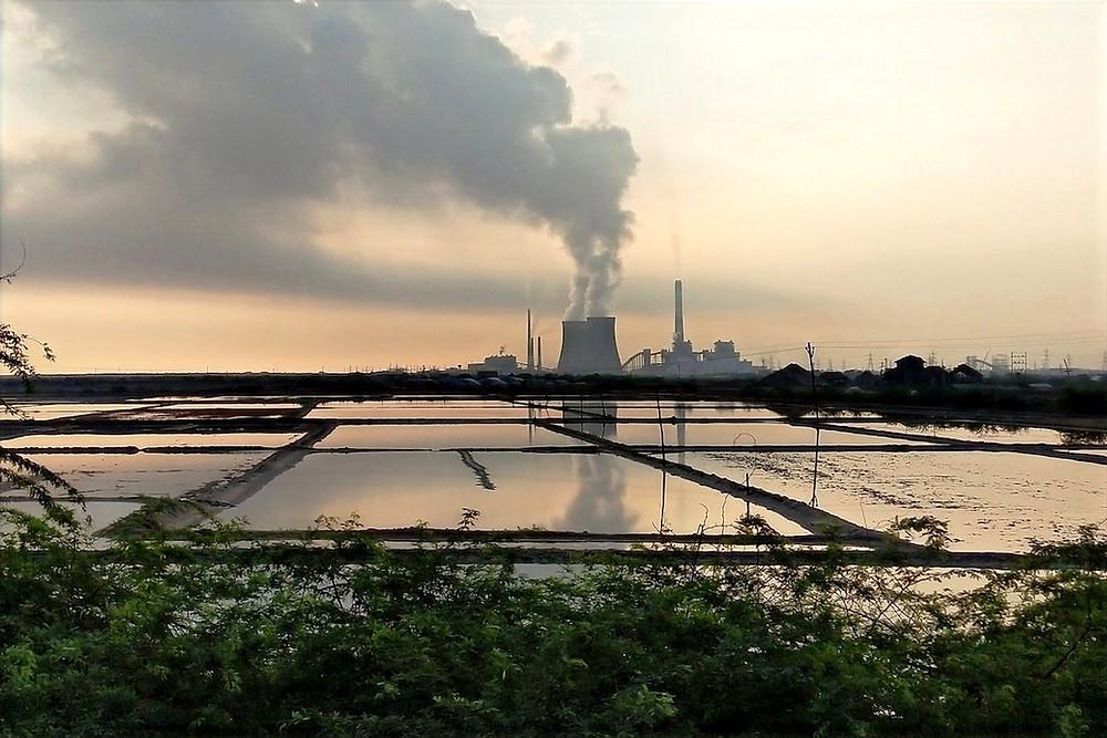 Usina de carvão na Índia