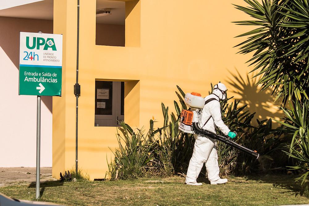 Desinfecção em Pelotas