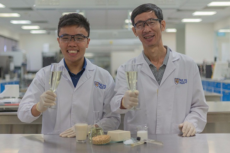Cientistas de Cingapura