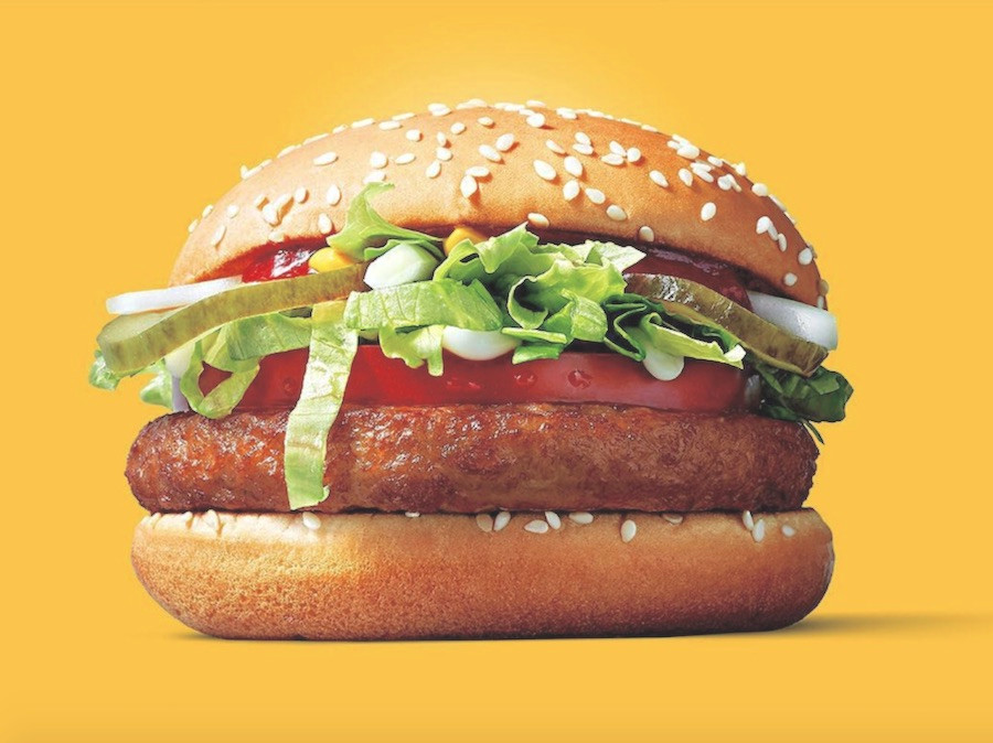 Mc Vegan, sanduíche de soja do McDonald's