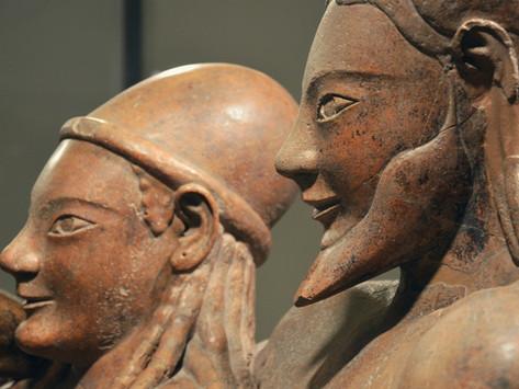 De onde mesmo vieram os etruscos?