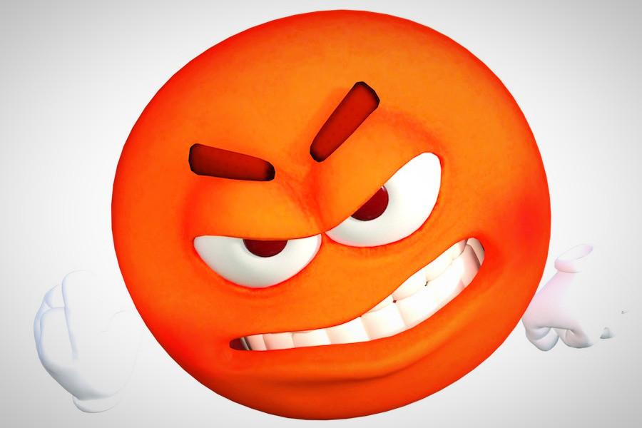 Emoticon de raiva