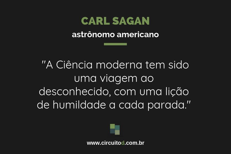 Frases sobre Ciência de Carl Sagan