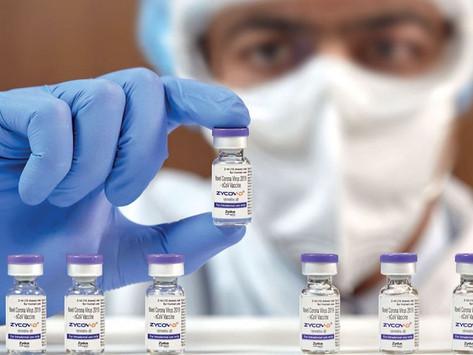 A primeira vacina de DNA, direto da Índia