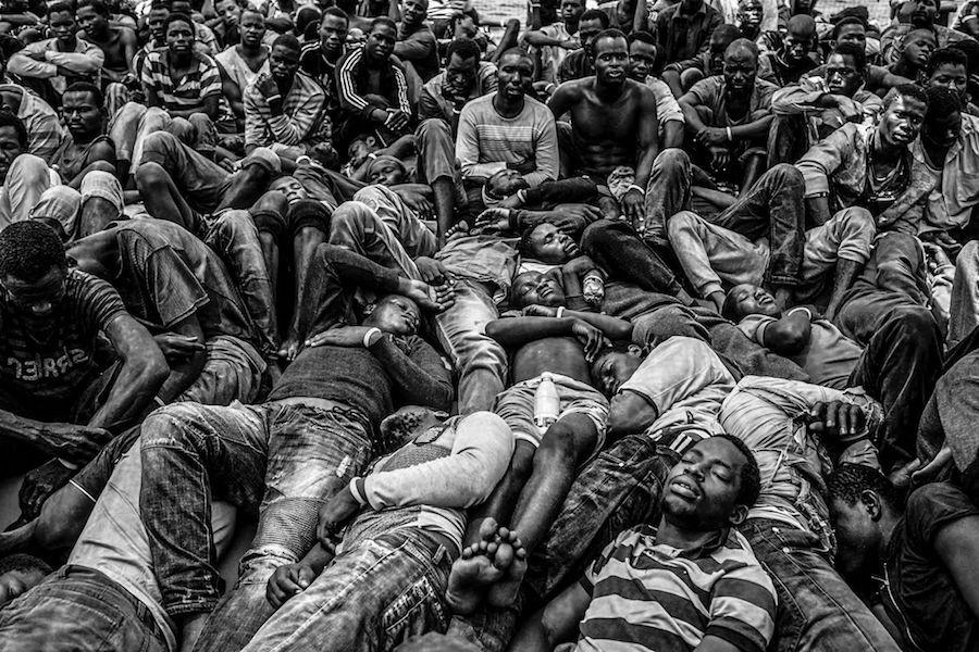 Refugiandos buscam a Europa