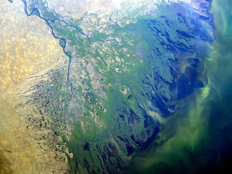 A região do rio Volga, em todo o seu esplendor