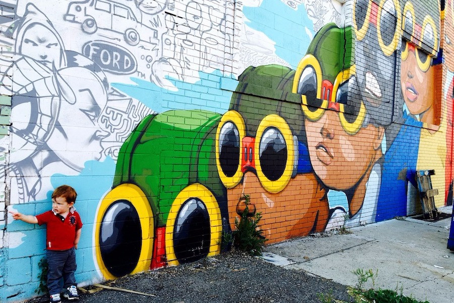 Grafite em Detroit