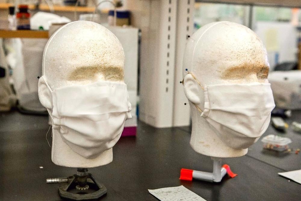 Máscaras em teste na UC