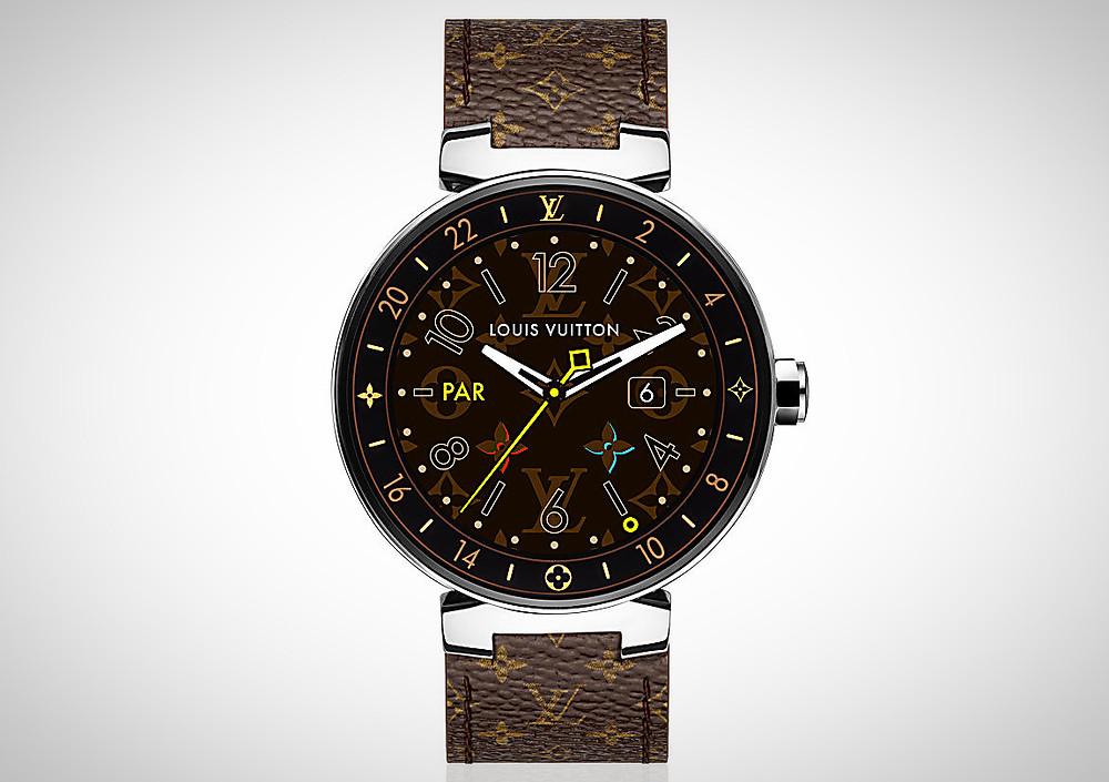 relógio inteligente Louis Vuitton