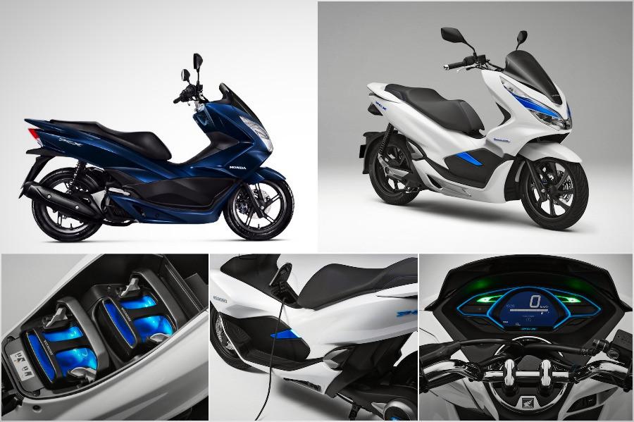 PCX  e PCX Electric, da Honda