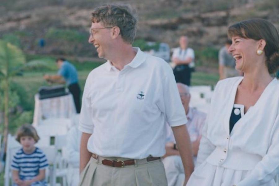 Bill Gates e a mulher, Melinda