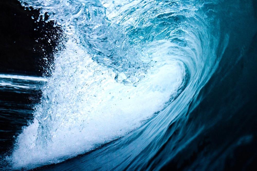 Água do oceano