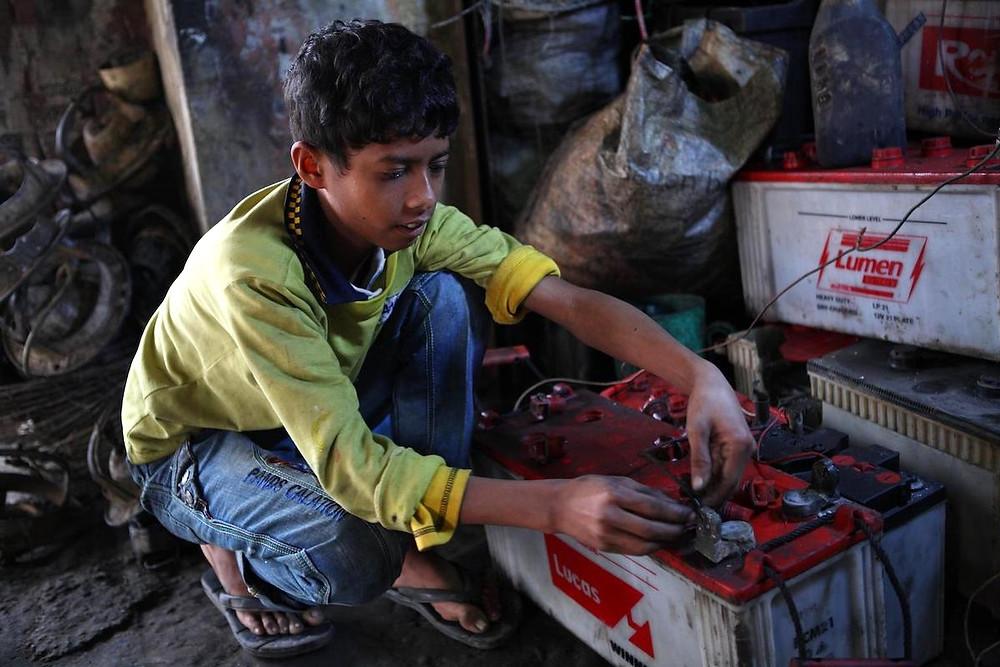 Criança em Bangladesh