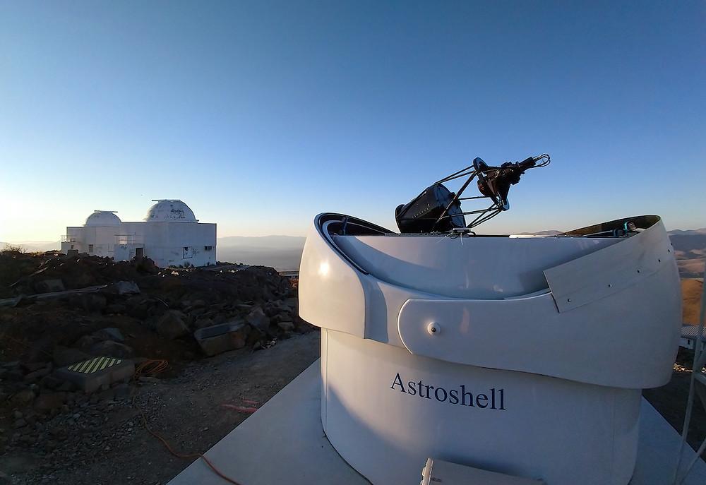 TBT2 e outros telescópios