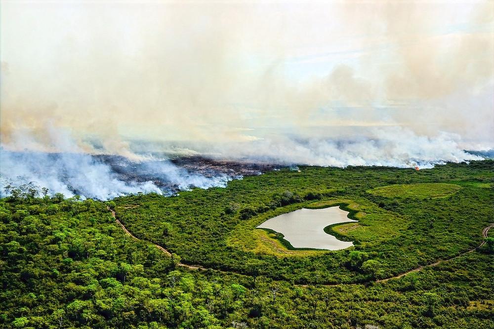 Queimada no Mato Grosso