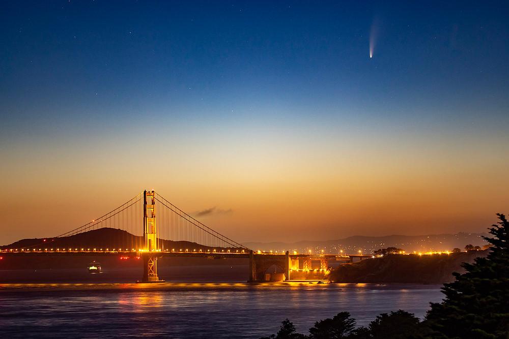 Neowise em San Francisco