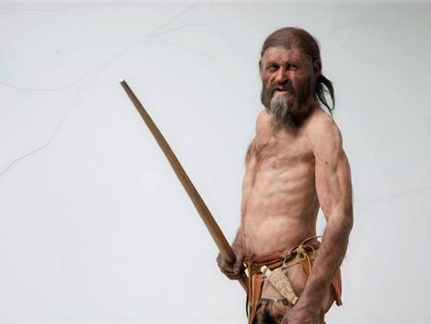 O que Ötzi, o homem de gelo, ensina sobre tatuagem