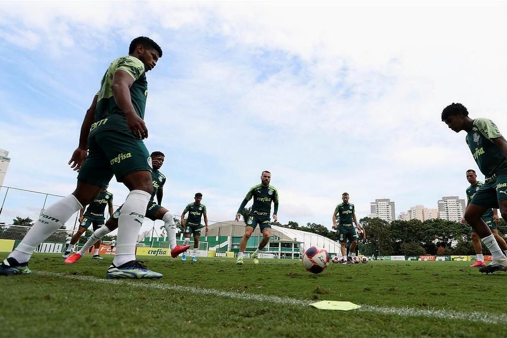Treinamento do Palmeiras