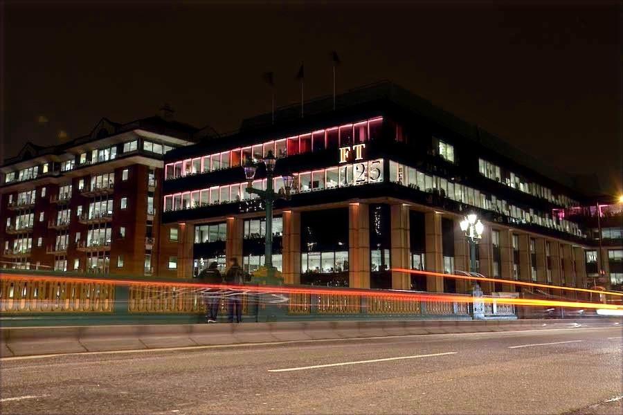 sede do Financial Times em Londres
