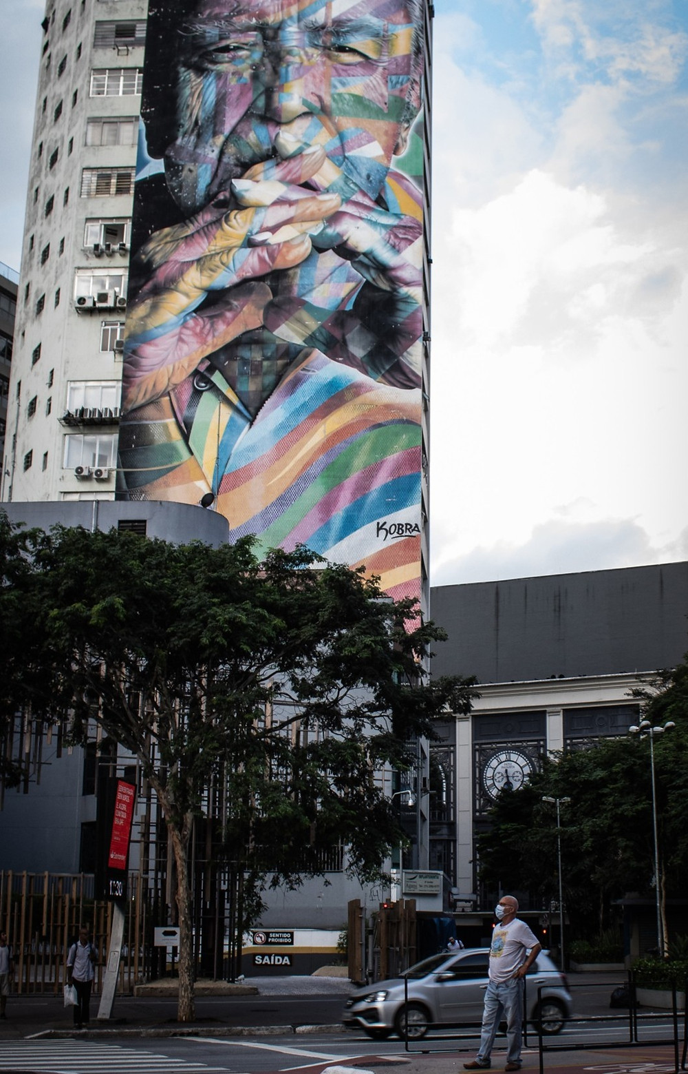 Grafite de Niemeyer por Kobra