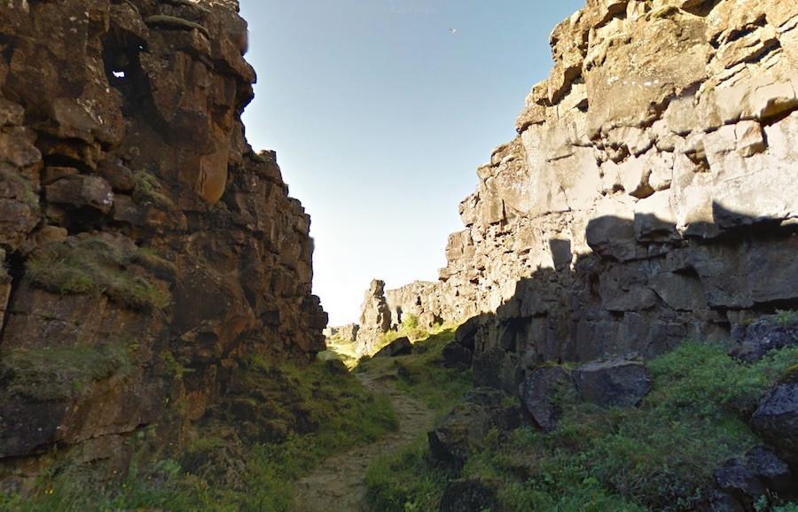 Locações de batalhas foram feitas no Parque Nacional de Thingvellir, na Islândia.