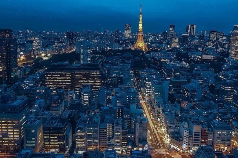 Tóquio à noite