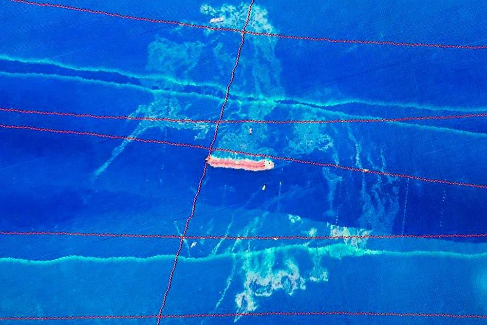 Mancha de óleo no litoral do Maranhão