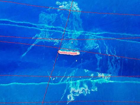 Mancha de óleo no litoral do Maranhão se aproxima de 1 km²