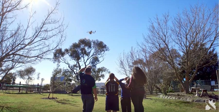 Drone na Austrália