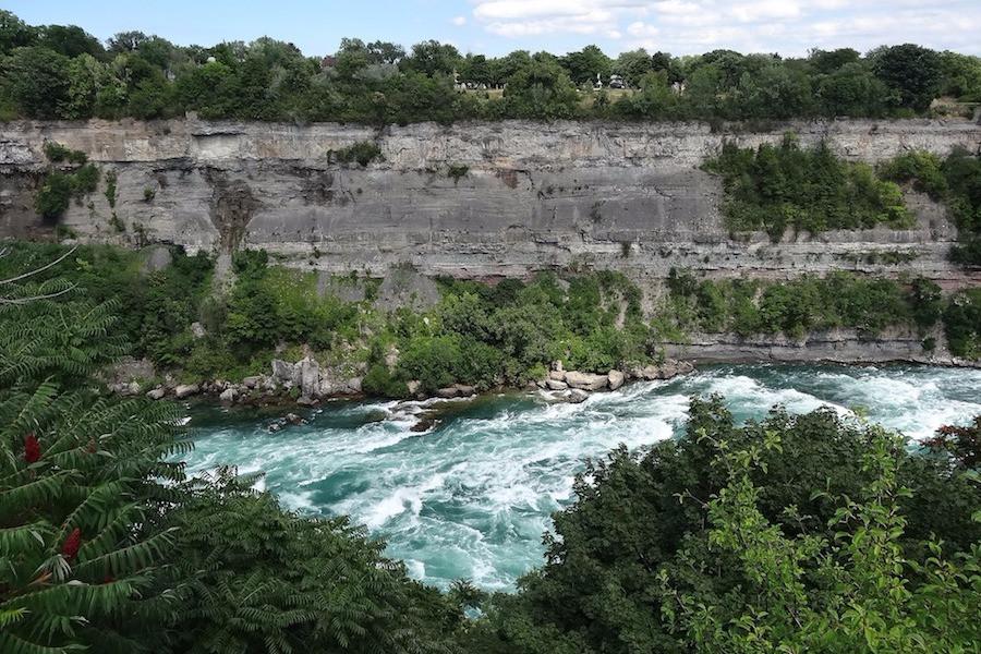 Rio Niágara, entre Canadá e Estados Unidos