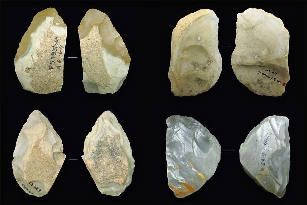 Facas de neandertais