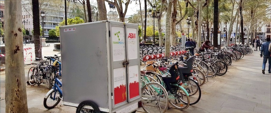 Bicicletas em Sevilha