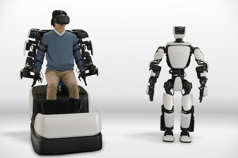 Sincronização humana com robô da Toyota