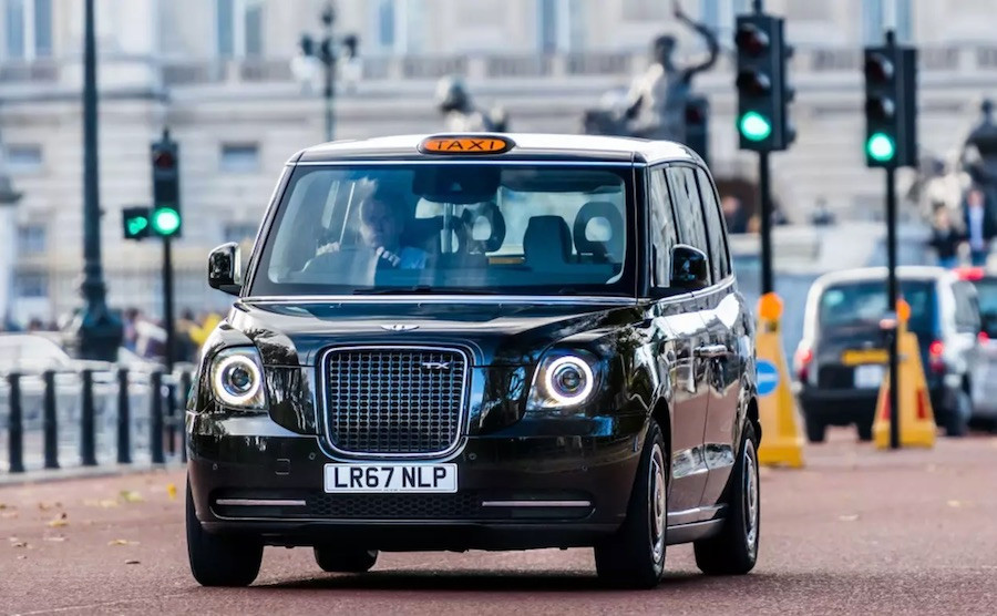 Táxi preto de Londres